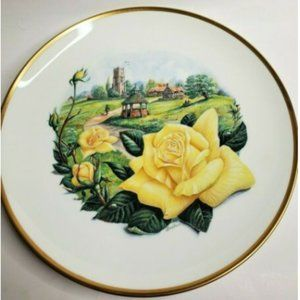 "Boehm ""Irish Gold Collector Plate"